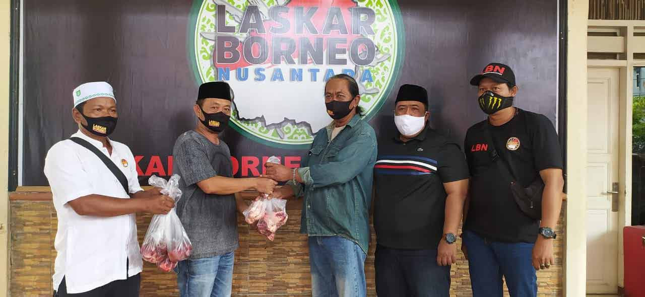 LBN Kota Samarinda Bagikan 570 Daging Kurban