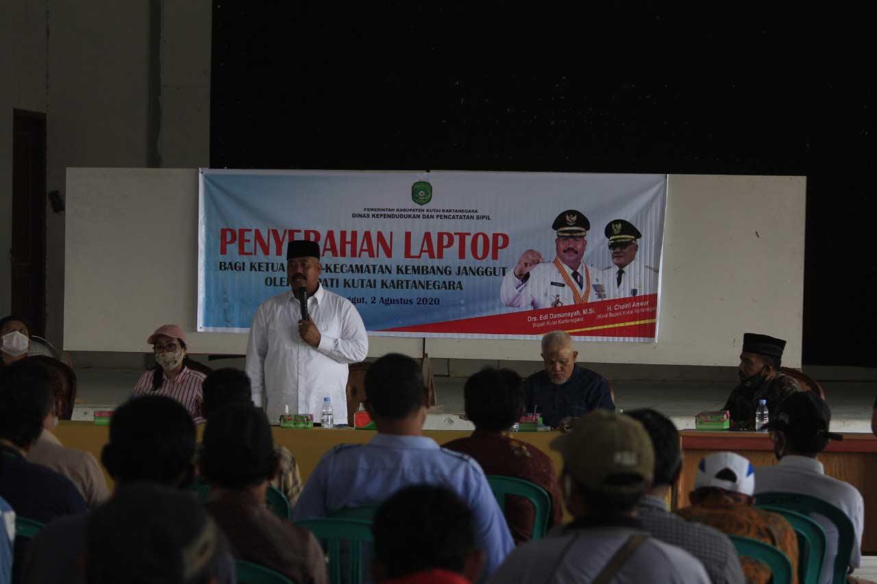 Edi Damansyah Hadiri Pelantikan Ketua BPC KKSS Kembang Janggut