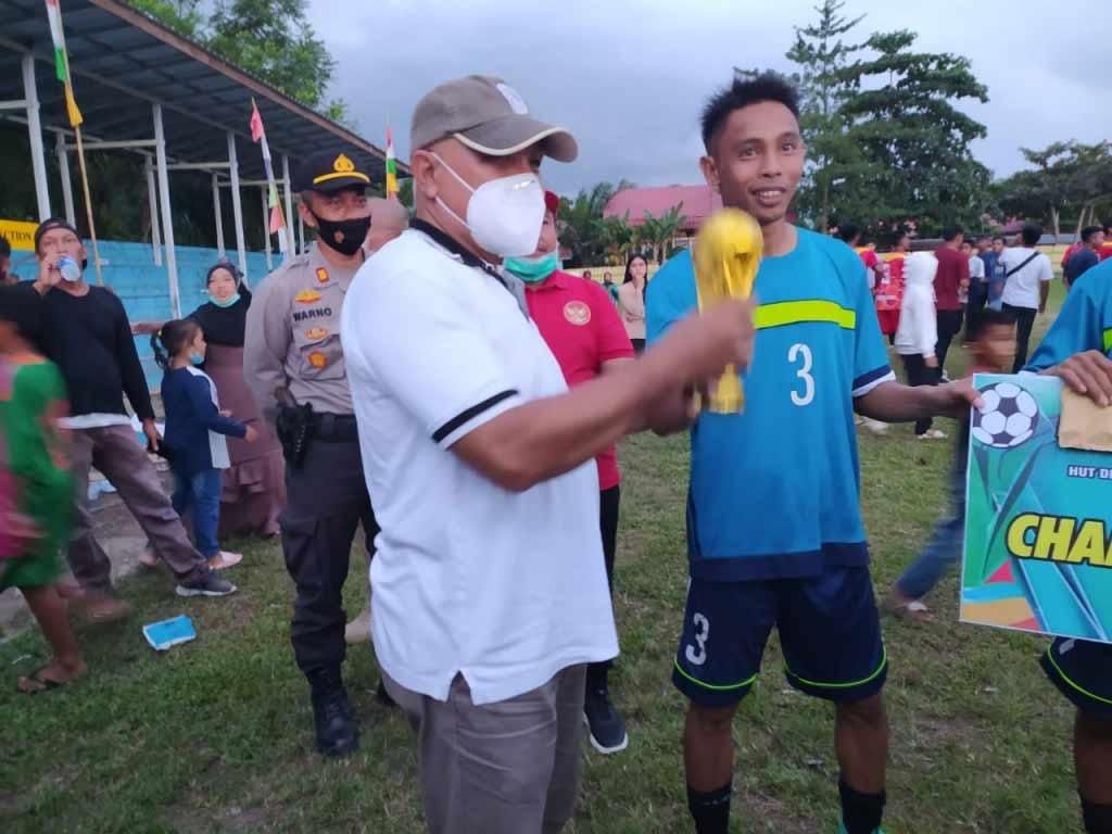 Wakil Bupati Kukar Chairil Anwar Hadiri HUT Desa Kembang Janggut