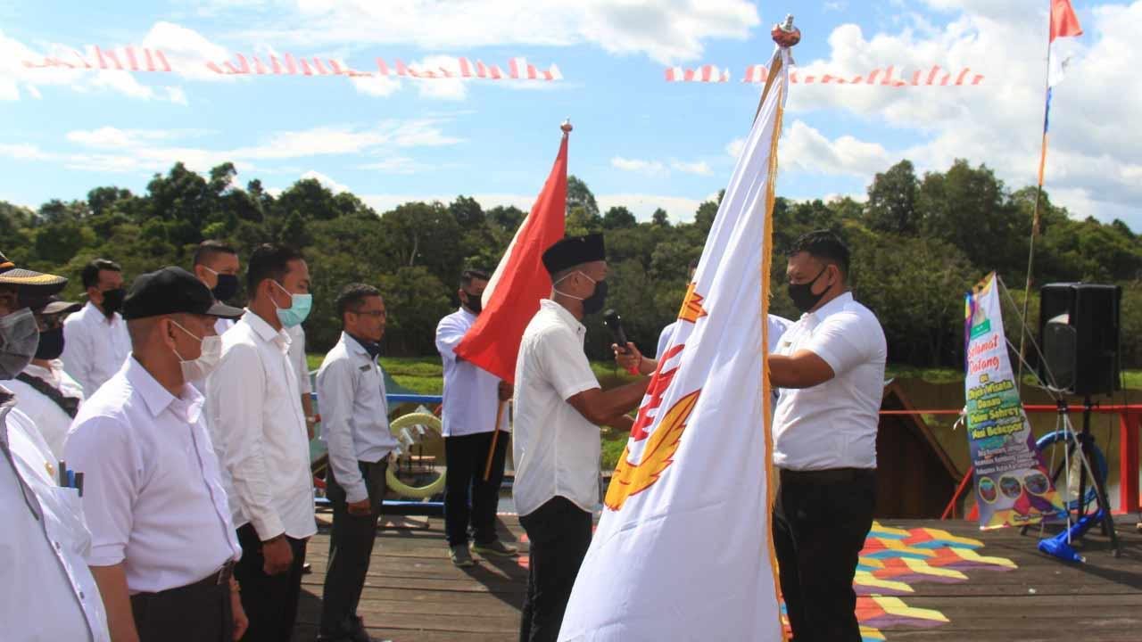 Bupati Kukar Hadiri Pelantikan Pengurus Koni Korwil Kembang Janggut