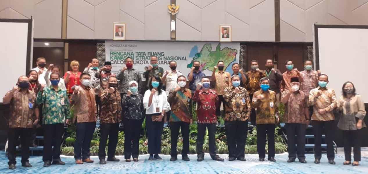Wakil Bupati Kukar Hadiri Konsultasi Publik Penyusunan Materi Teknis RTR
