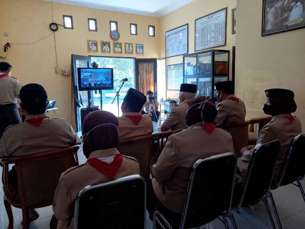 Wakil Bupati Kukar, Chairil Anwar Hadiri HUT Pramuka Ke 59