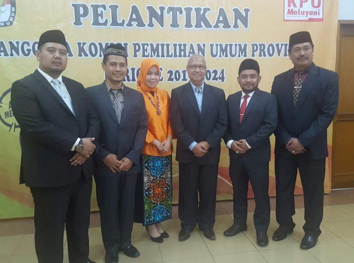 Rudiansyah Duduki Jabatan Ketua KPU Kaltim 2019-2024