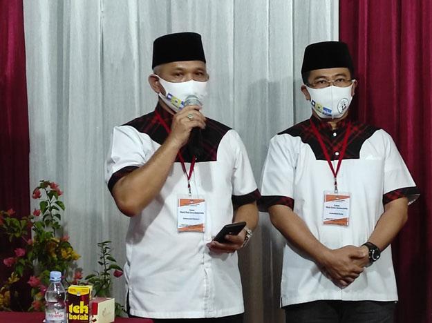 Hari ke 3 Barkati-Darlis mendaftar di KPU Kota Samarinda.