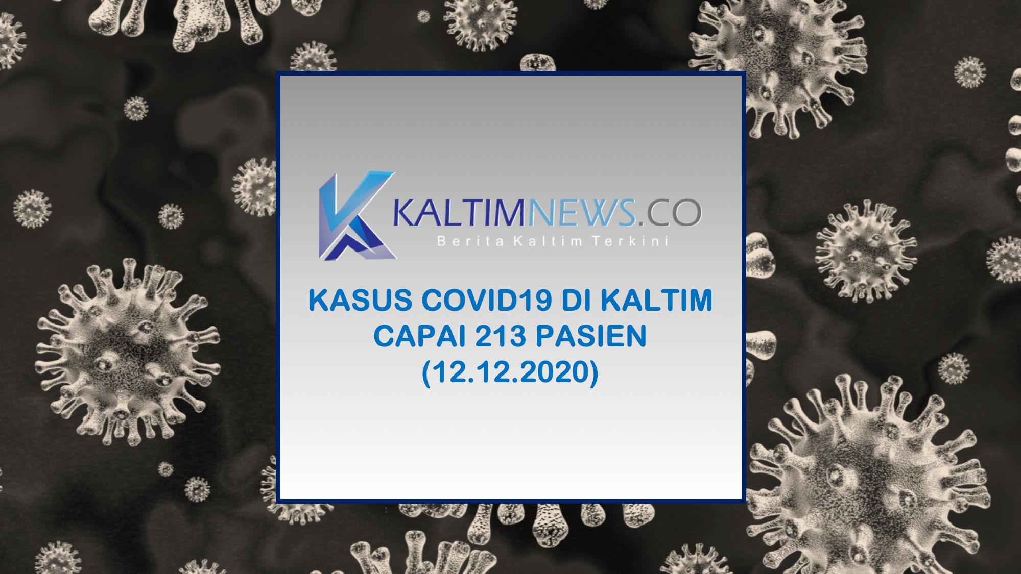 Update Kasus Covid19 di Kaltim 11 Desember 2020